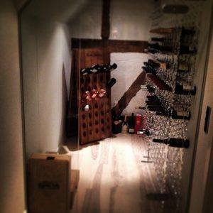 Customized Wine Wall
